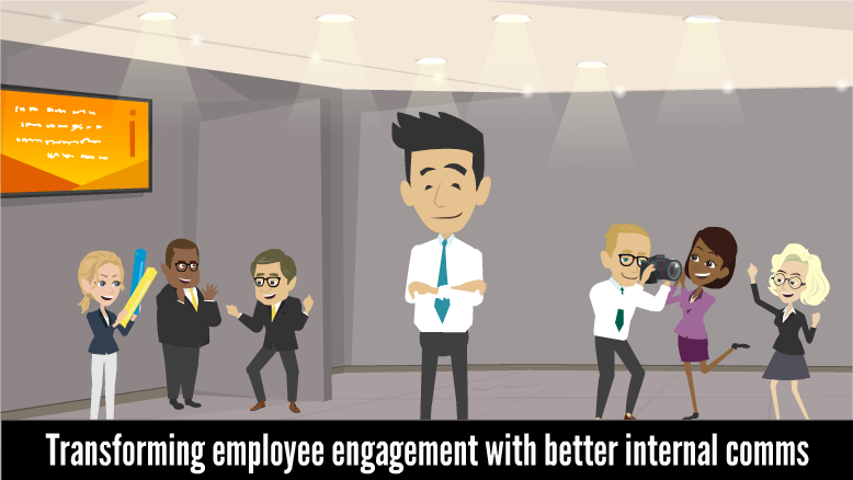 Internal comms makes happy workplaces a reality!
