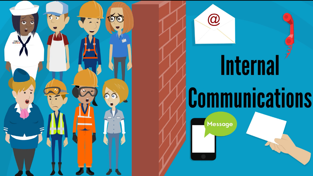 "You say, ""Internal comms"". They ask, ""Say What?"""