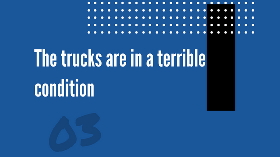 To cover more miles, the trucks need to at least hit the speed limit. If not, you're doing a disservice to both your company and you drivers.