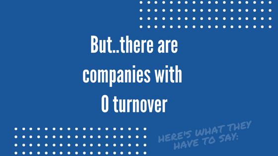 Yes. 0 turnover in the trucking industry can be a reality.