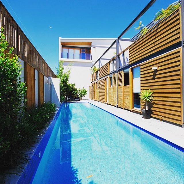 Lazy days beside the pool are plentiful at the Butter Factory in Byron Bay.  #poolside #byronsunshine