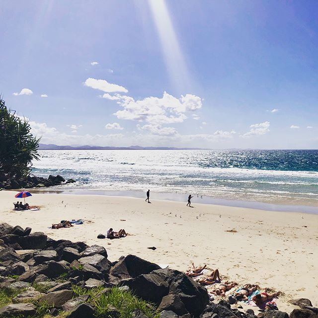 Beautiful days in the Bay expected right through winter 🌞  #byronbay #byronbeachside #sunshine #beachdays
