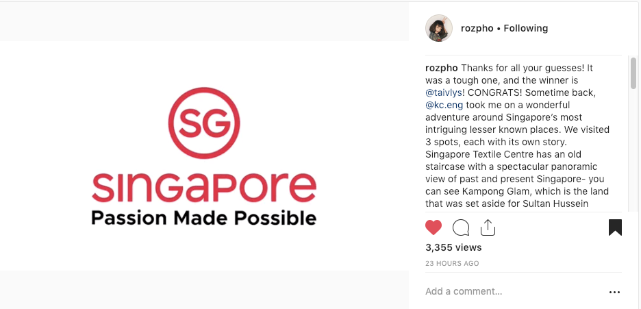 Passion Made Possible, Singapore Tourism Board 00.png