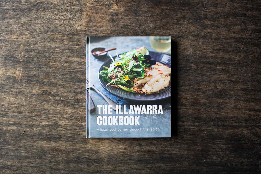 The Illawarra Cookbook   A beautiful cookbook featuring recipes from the region's best cafes, restaurants and bars. Filled with stunning regional imagery and features on artisanal producers, farmers and small businesses – read, cook and enjoy the journey. Makes for a perfect present!  Grab a copy at  www.quicksandfood.com