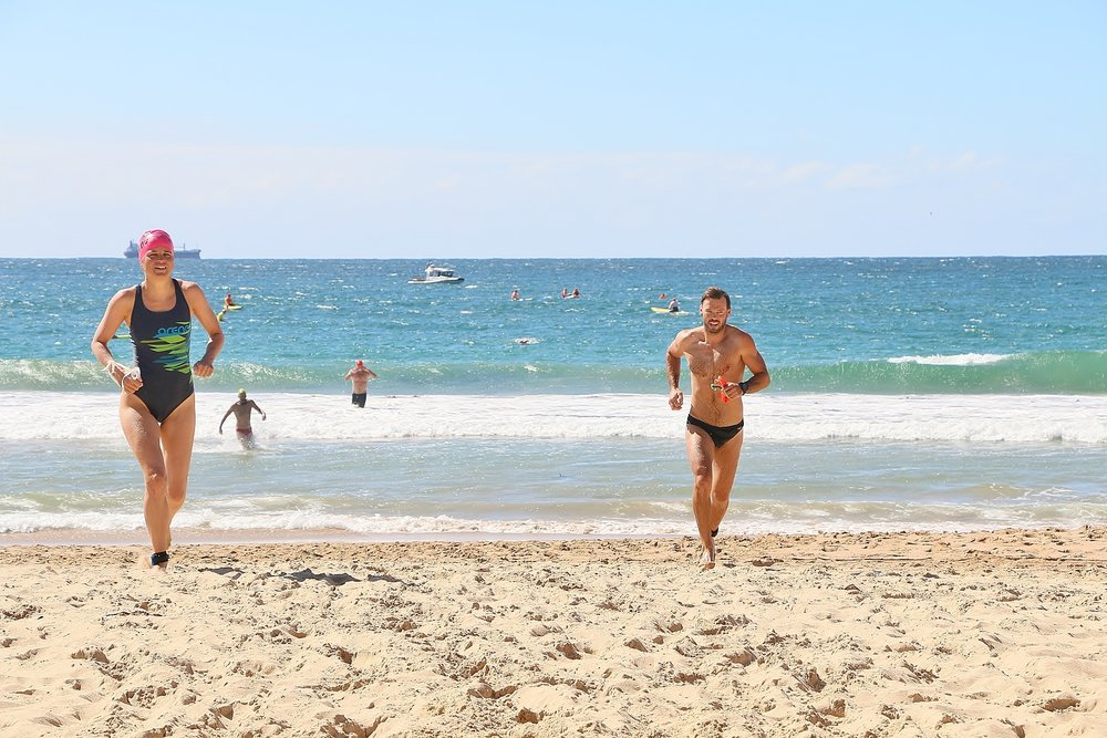 Ocean Swim - FInish line.JPG