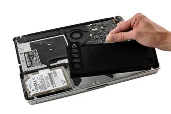 Apple MacBook battery replacement