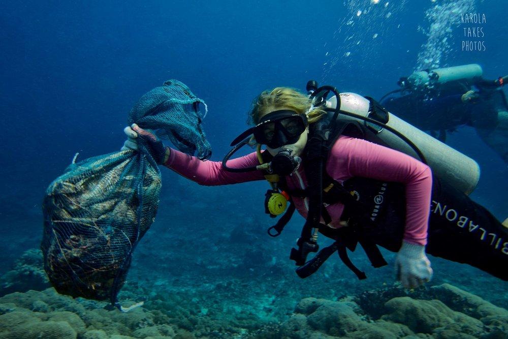 Clean up dives