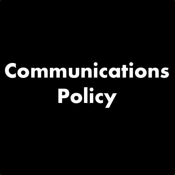 Communications Policy