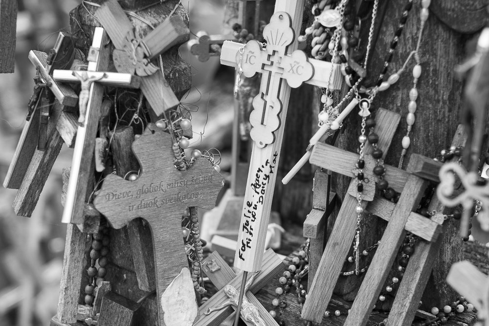Kryžių Kalnas (Hill of Crosses): a place for hope, peace, love and sacrifice.