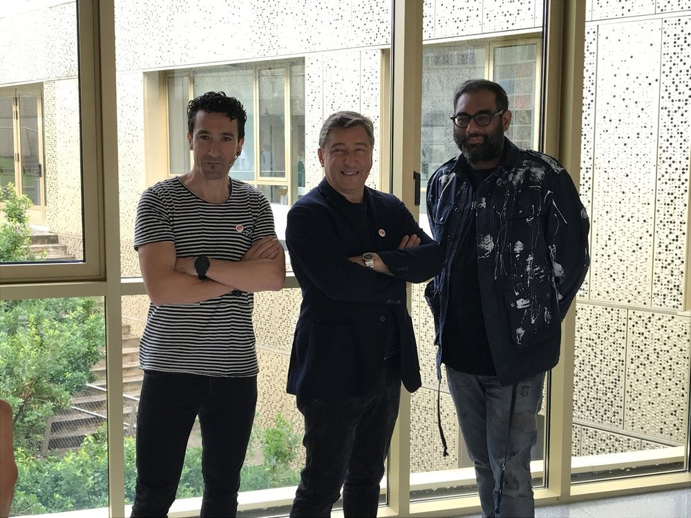 The Founding Chefs (left to right): Eneko Atxa (Azurmendi), Joan Roca (El Celler de Can Roca) and Gaggan Anand (Gaggan).
