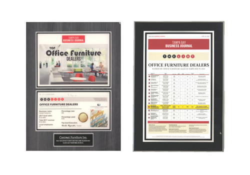 Contract Furniture Plaques