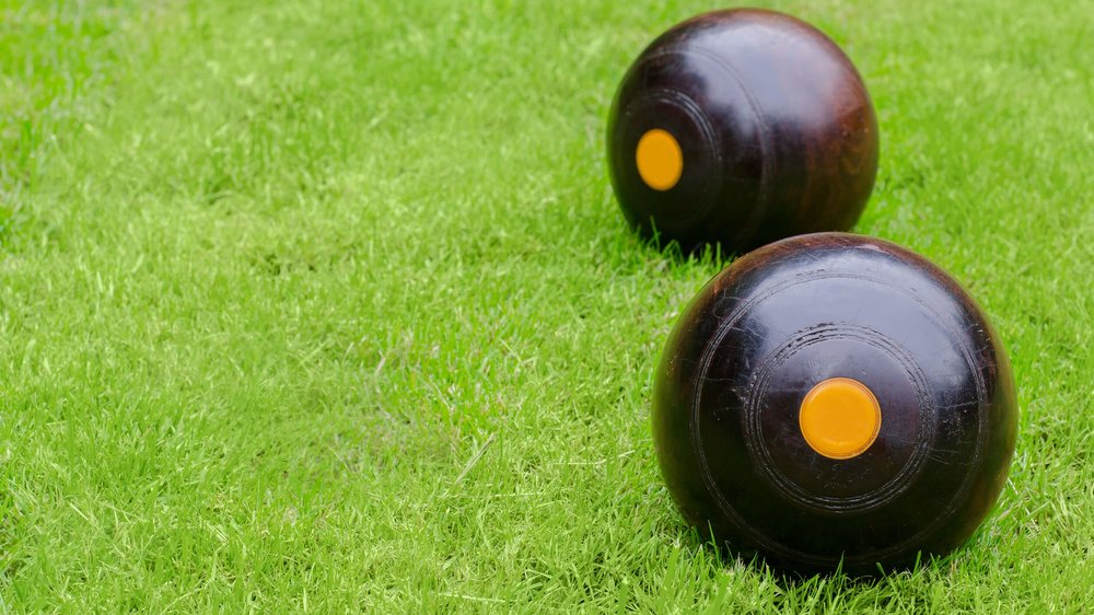 Lawn Bowls - The most relaxing game you can imagine.
