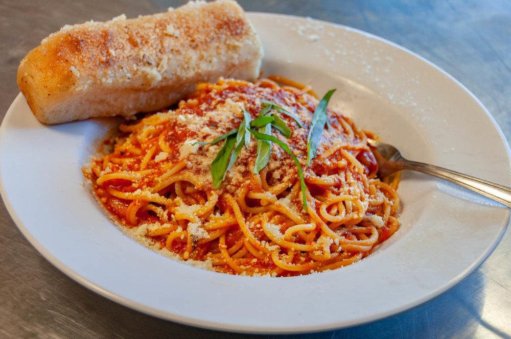 Wednesday Spaghetti Special