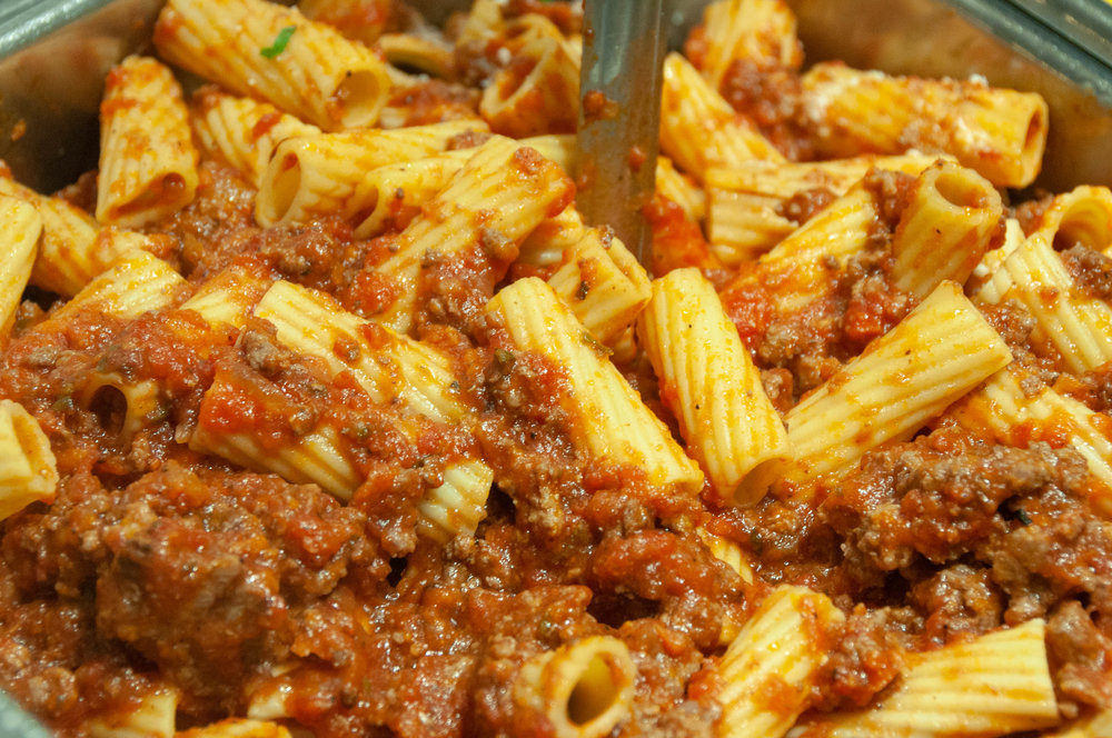 Rigatoni & Meat Sauce