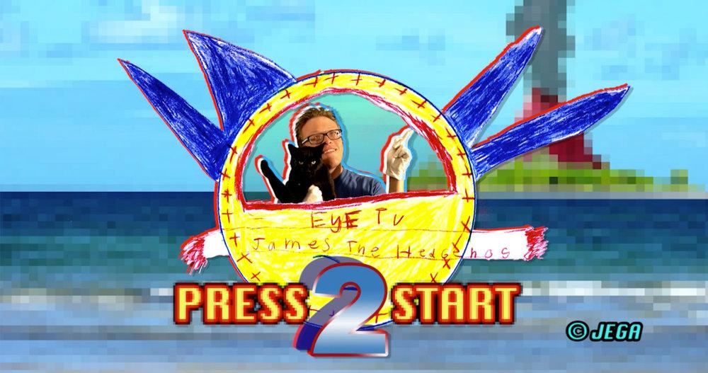 A logo for the film Eye TV 2.