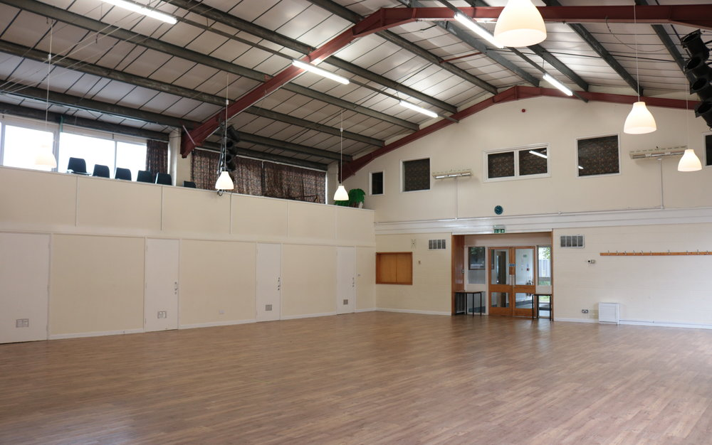 Cedar hall - Ideal for large groups, exercise classes, performance groups and more!