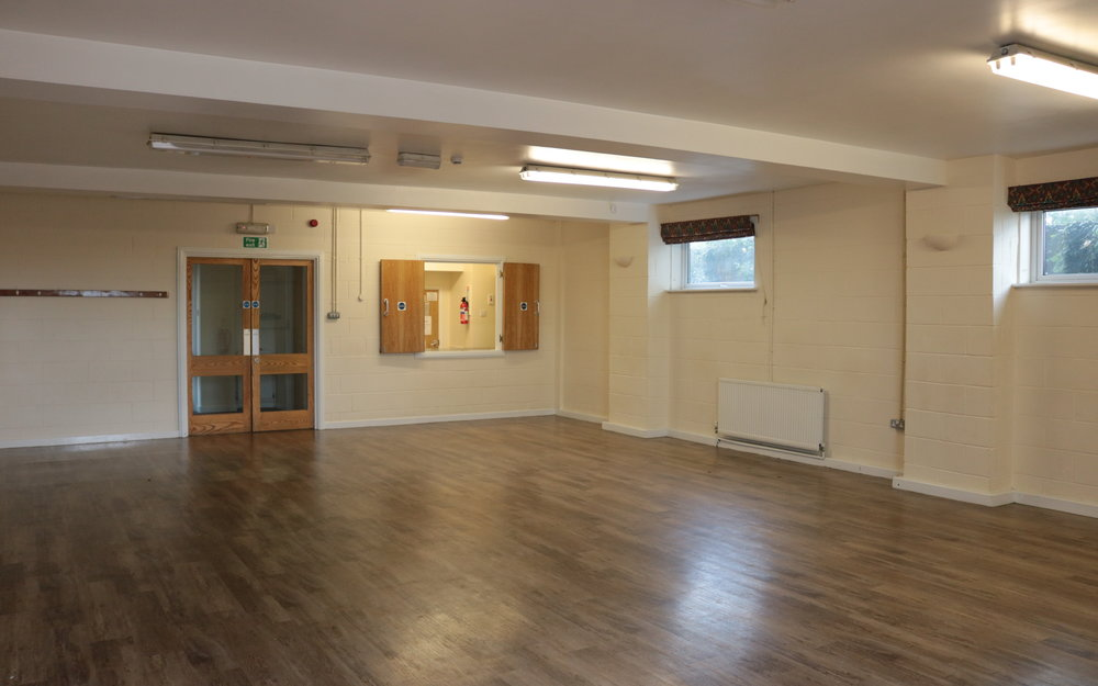 LIME HALL - Our smaller hall, perfect for groups who don't need quite so much space to spread out into.