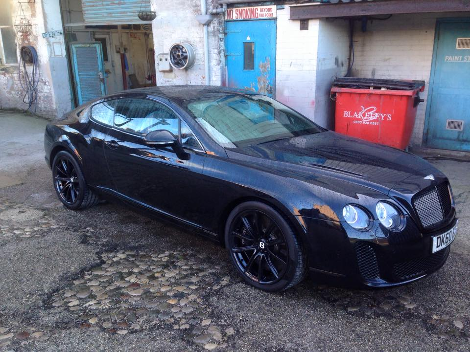 From a Mini to a Bentley - Sprayfit is your trusted repair provider to ensure your car is returned to good as new.