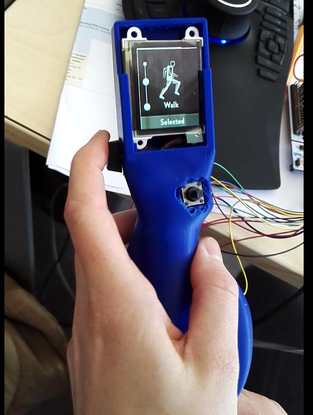 Prototype input device