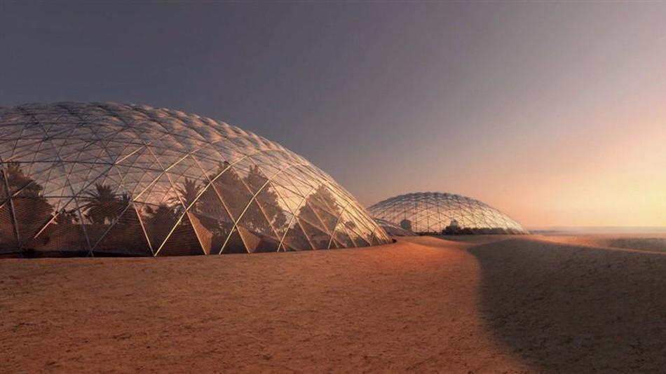 Source: Mars Simulation City, BIG 2017