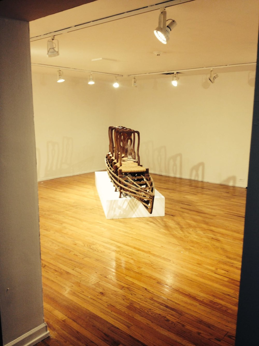Installed at Pittsburgh Center for the Arts, 2014