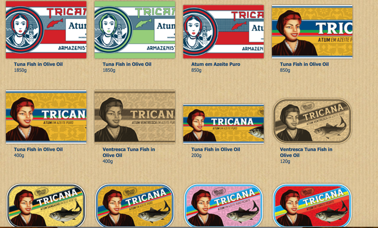 Some of my favorites canned fish from Portugal