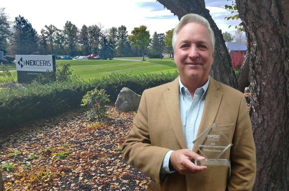 Dawson award outside.jpg