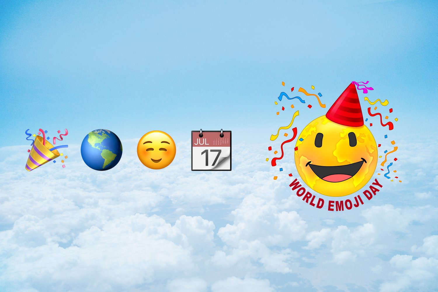 📅 World Emoji Day — July 17, 2019