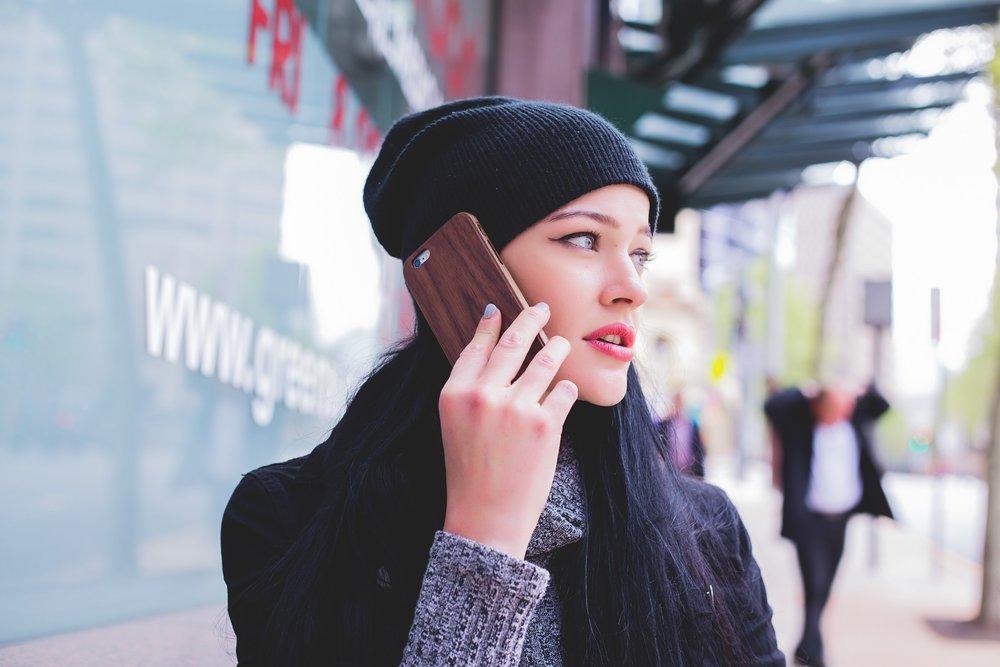 Alla boende kan välja till telefoni om så önskas.