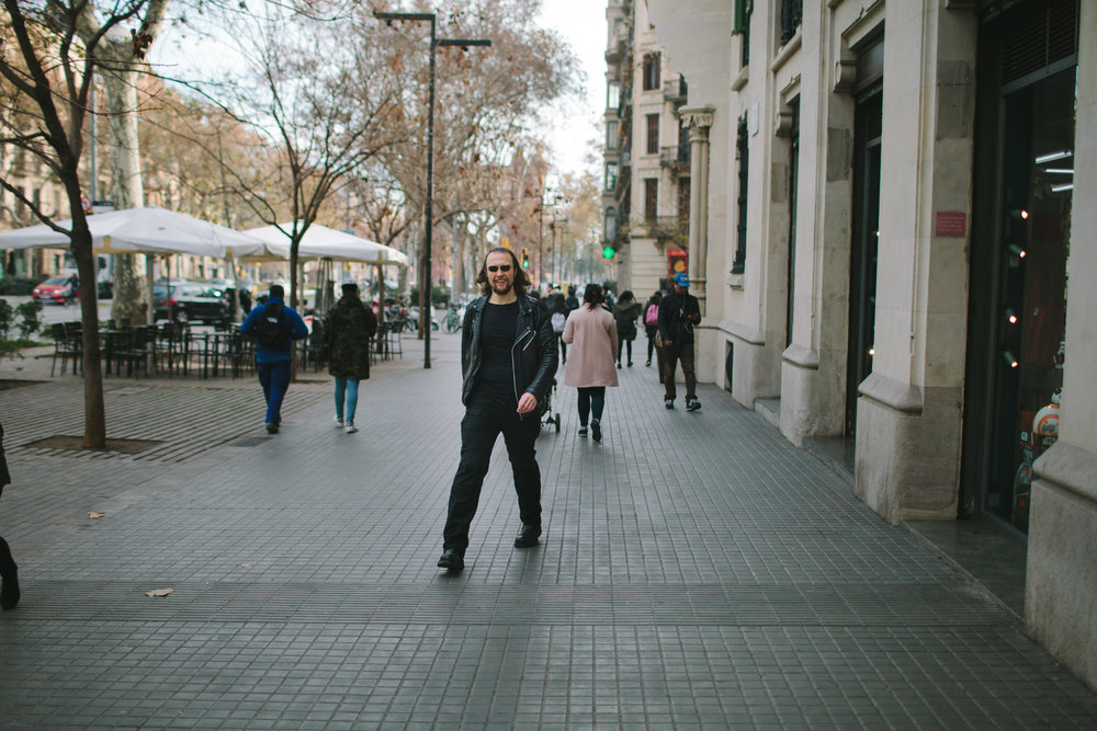 My life in Barcelona - Michal