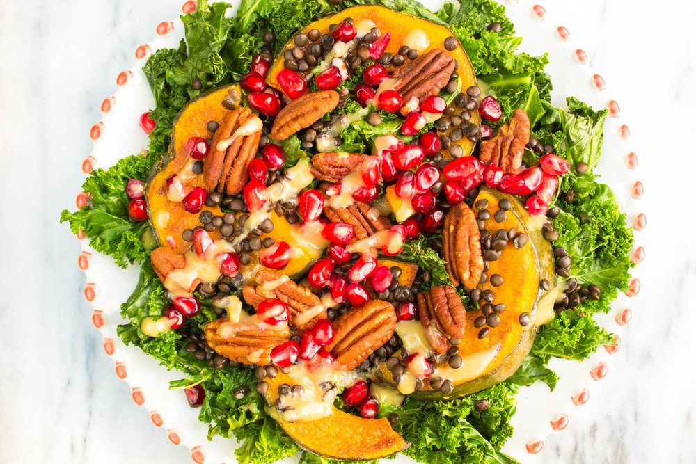 Warm Fall Salad