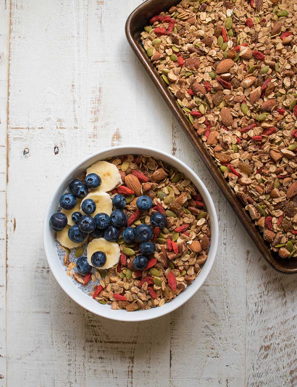 1 Bowl Perfect Superfood Granola