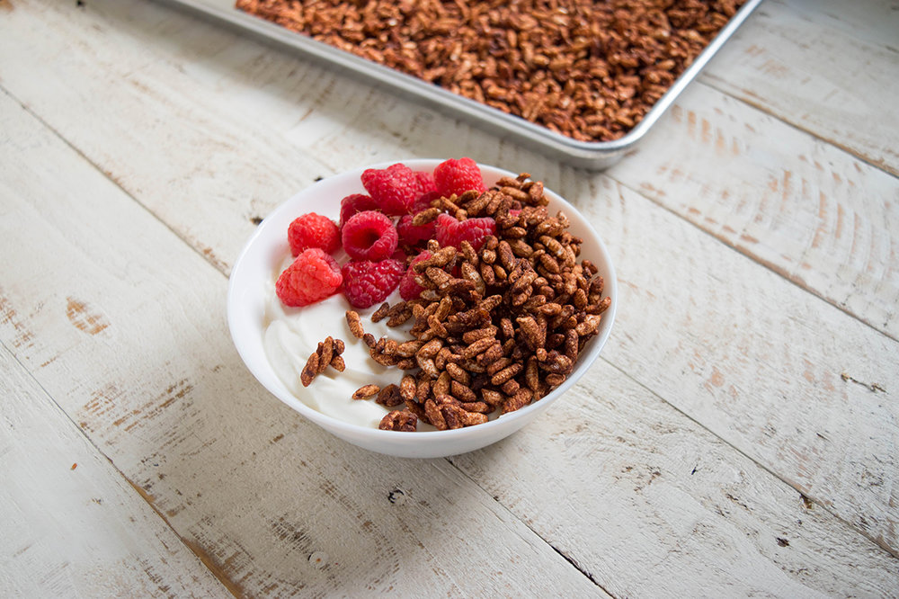 Chocolate Rice Puffs Cereal