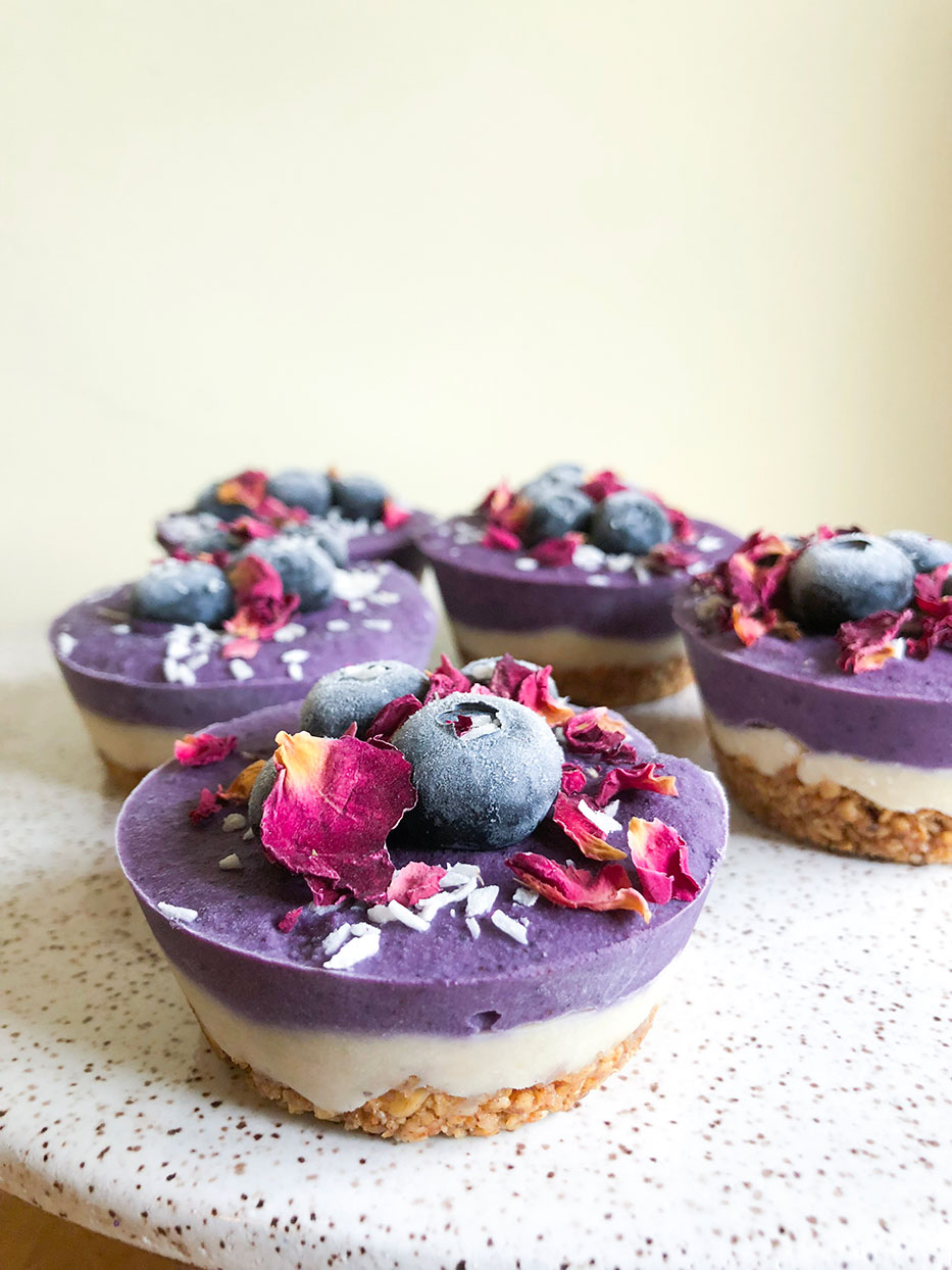 Adaptogenic Raw Vegan Cheesecakes