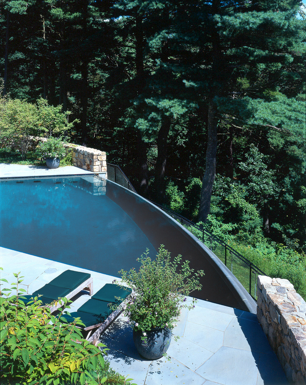 Infinity Edge Pool  Concord, MA