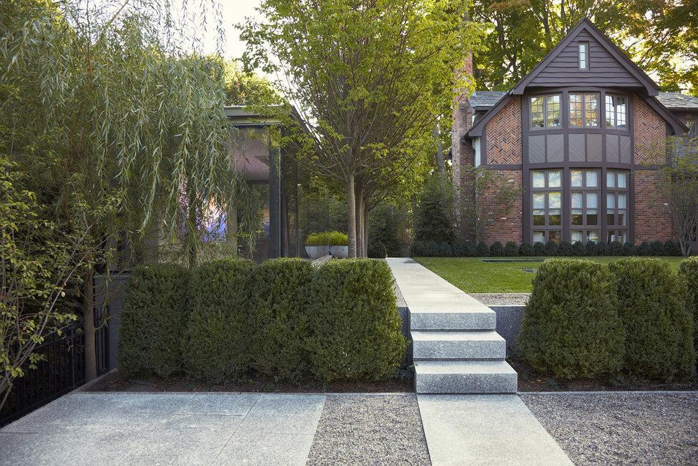 Granite Steps  Chestnut Hill Residence