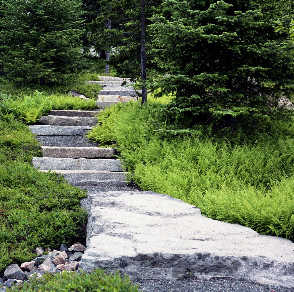 Granite Steps  Northeast Harbor Mount Desert, ME