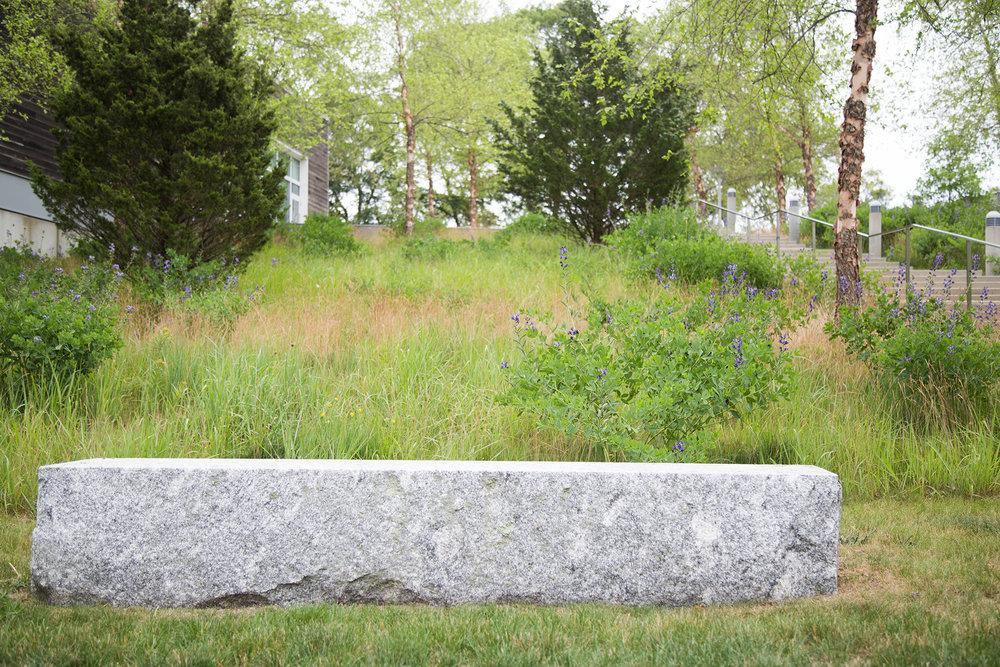 Granite Bench Block  WHOI