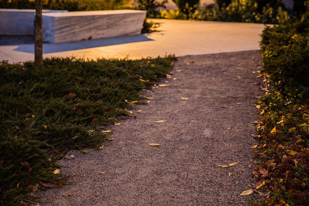 Decomposed Granite Path  Williams College Williamstown, MA