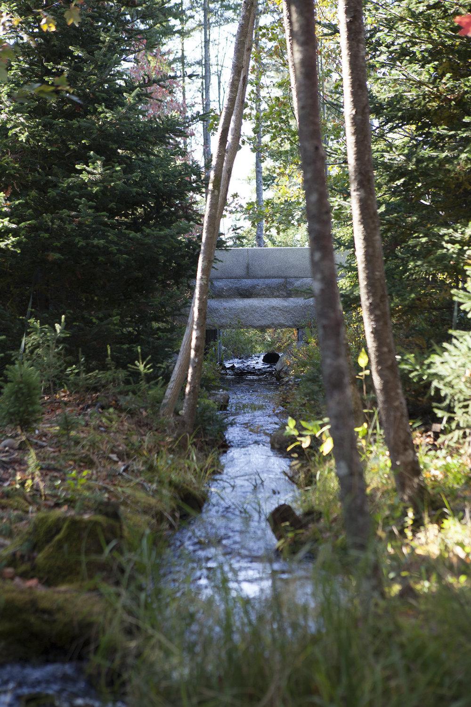 Stream Restoration  Northeast Harbor, ME