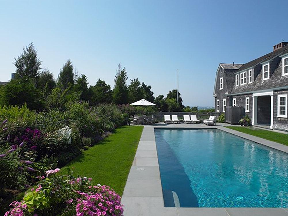 Pool  Nantucket Residence