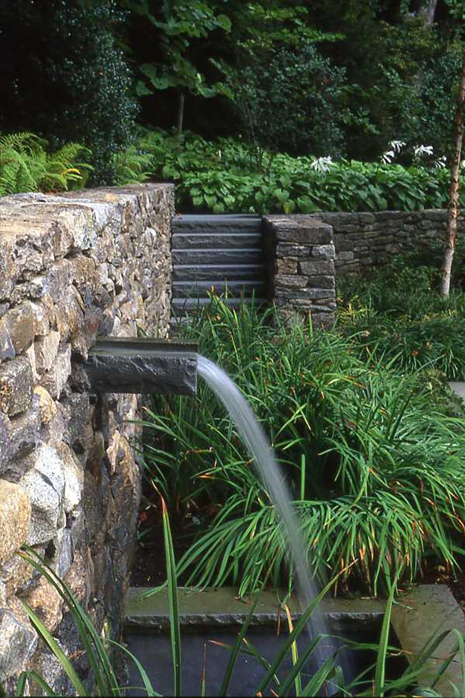 Stone Spout  Greenwich Garden