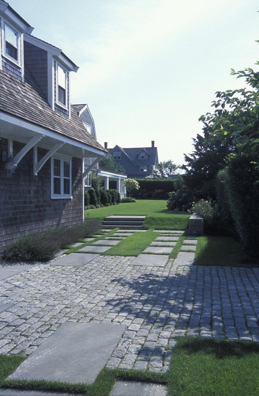 Terrace Paving  Nantucket Residence