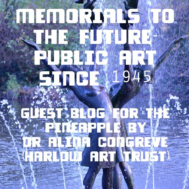 Very chuffed to have the first guest blog for The Pineapple now live, Dr Alina Congreve from the Harlow Art Trust writes about the shift in public art since 1945 in 'Memorials to the Future'. Link here to read more :  https://www.tfea.org.uk/the-pineapple/2019/1/21/memorials-to-the-future-new-public-art-after-1945  Please comment below with any thoughts, what do you think about the public art in Basildon?  What new kinds of public art can you imagine in the future? Maybe you have something to contribute about art in New Towns,  Public Art, or Art in Basildon? If so get in touch laura@tfea.org.uk