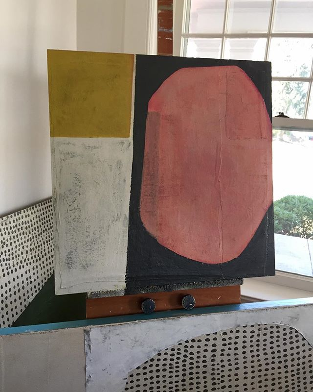 Studio views...wet paint...✖️#wip ▪️ ▪️ #contemporaryart #art #originalart #abstract #abstractart #interiors #bigart #interiorstyle #texture #instaart #daytonartist #artstudio #artiststudio #juliebeyerart #art_spotlight