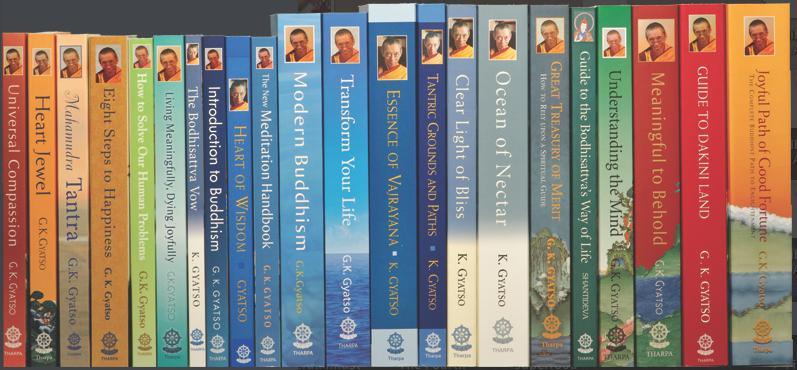 Books Written By Venerable Geshe-la