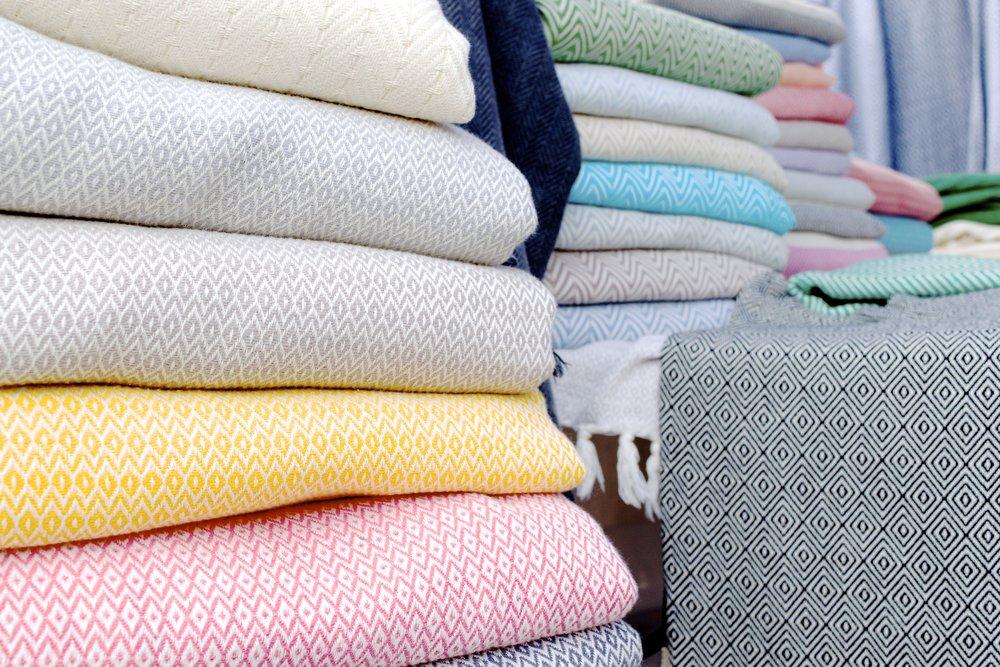 Turkish towels from Artisan Village Design via Katie Rains