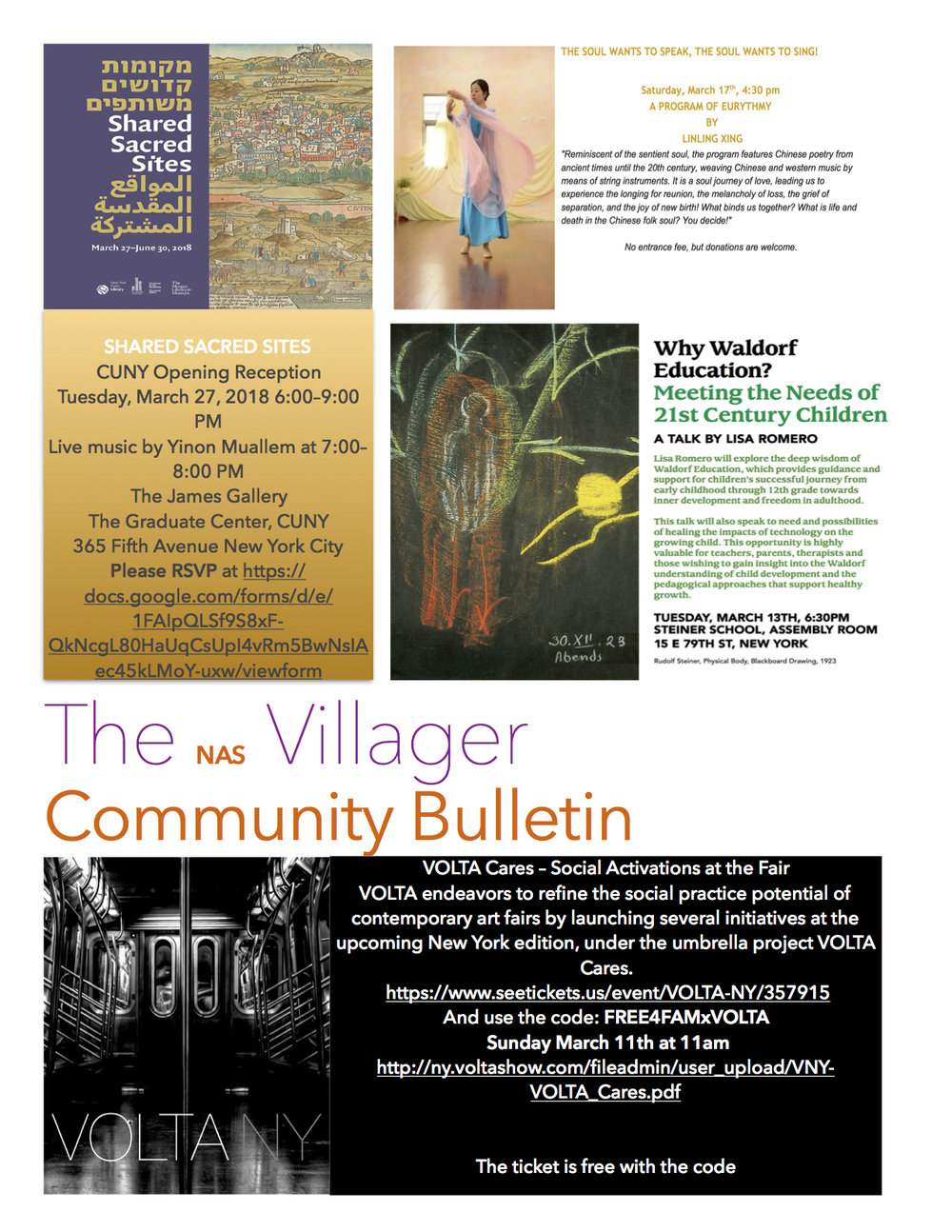Community Enrichment — New Amsterdam School