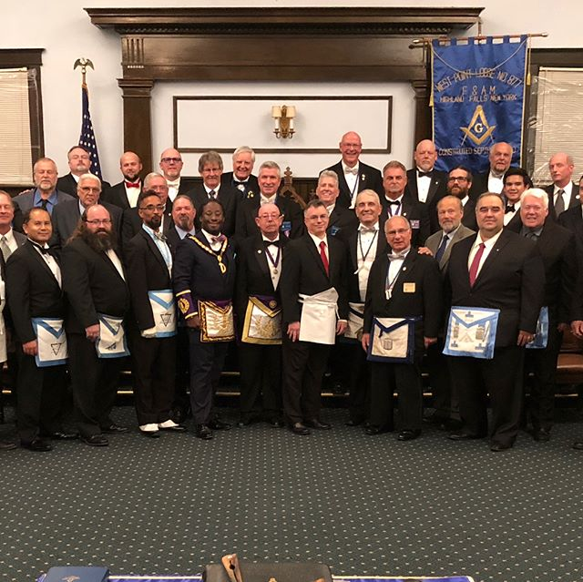 #nymasons The Glorious Fourth visits #westpoint Lodge No. 877