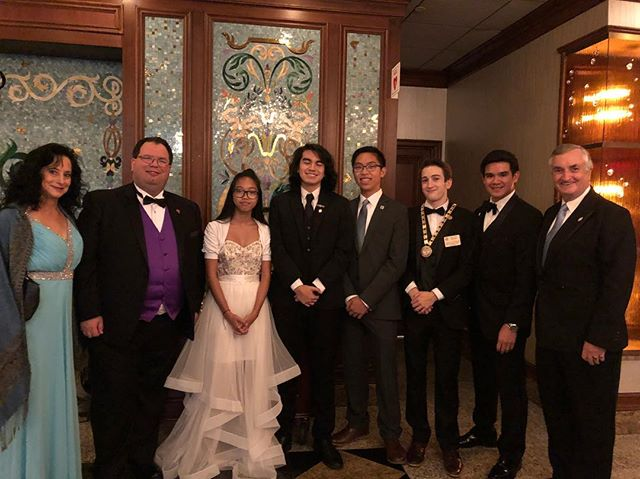 @knickerbockerdemolay — Thanks for coming out and supporting the Grand Master of #nymasons at #russosonthebay tonight for the 2018 Grand Master's Ball!  @nydemolay #demolay